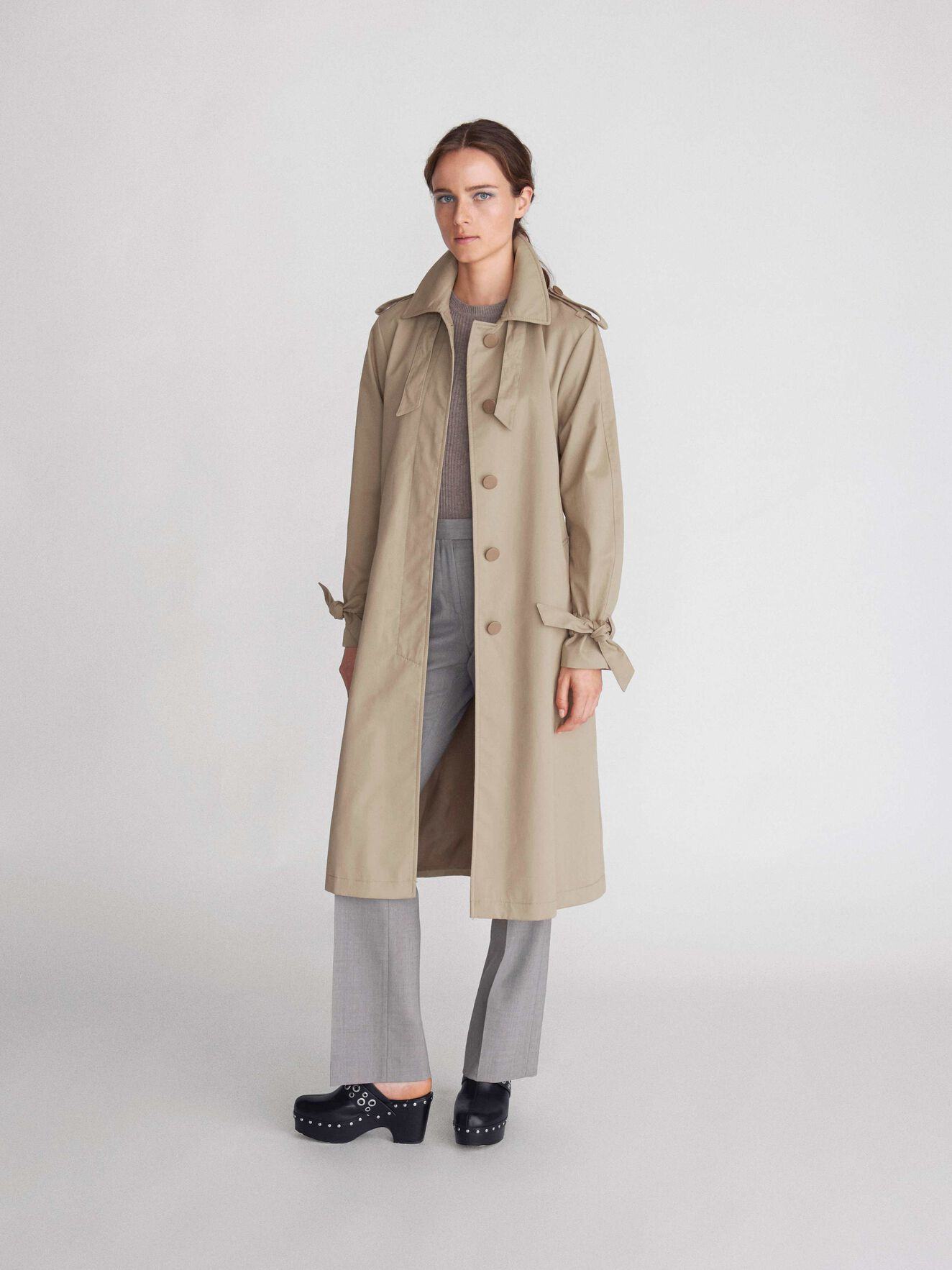 Torii Coat in Irish Cream from Tiger of Sweden