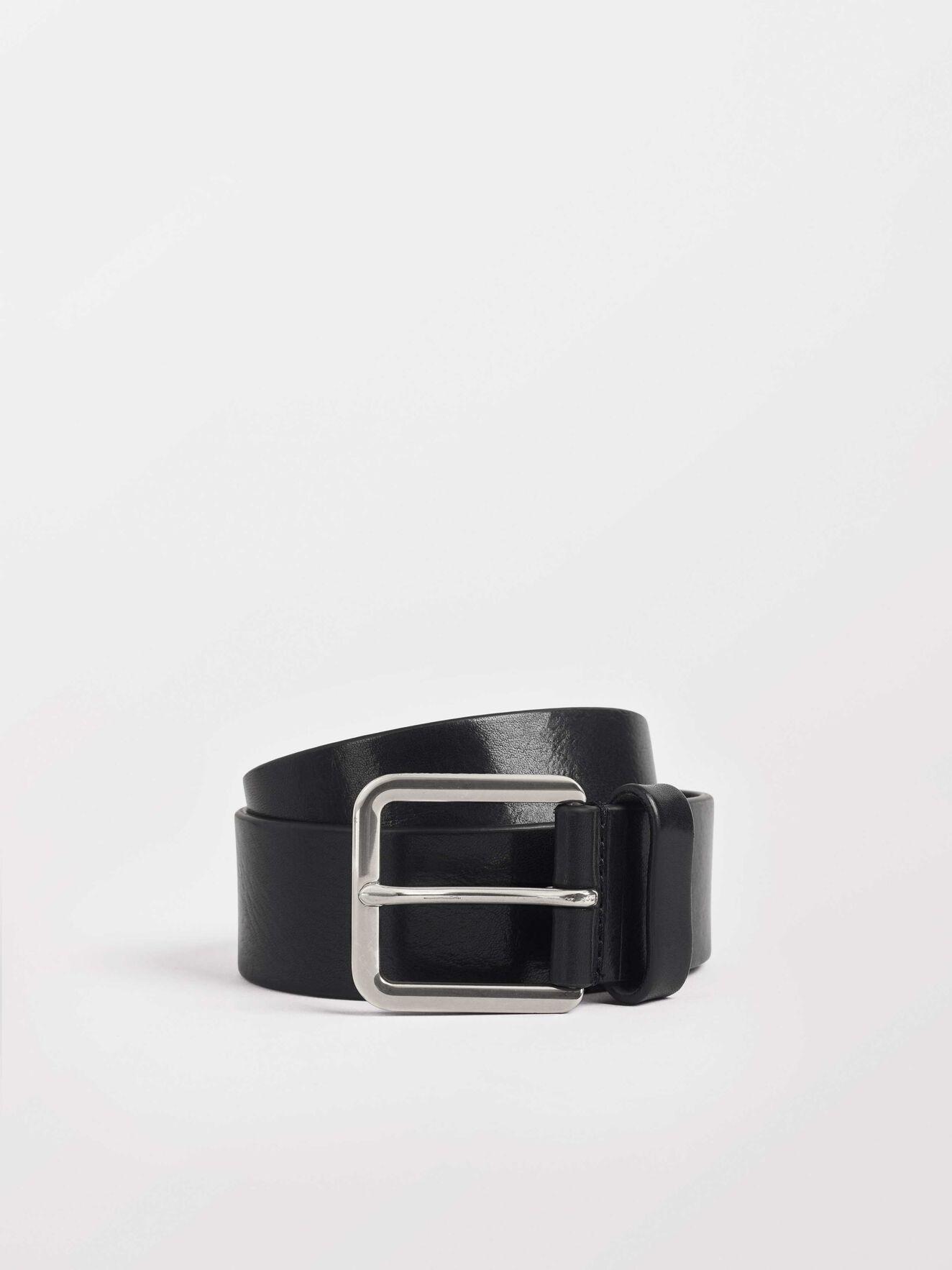 Barrent Belt in Black from Tiger of Sweden