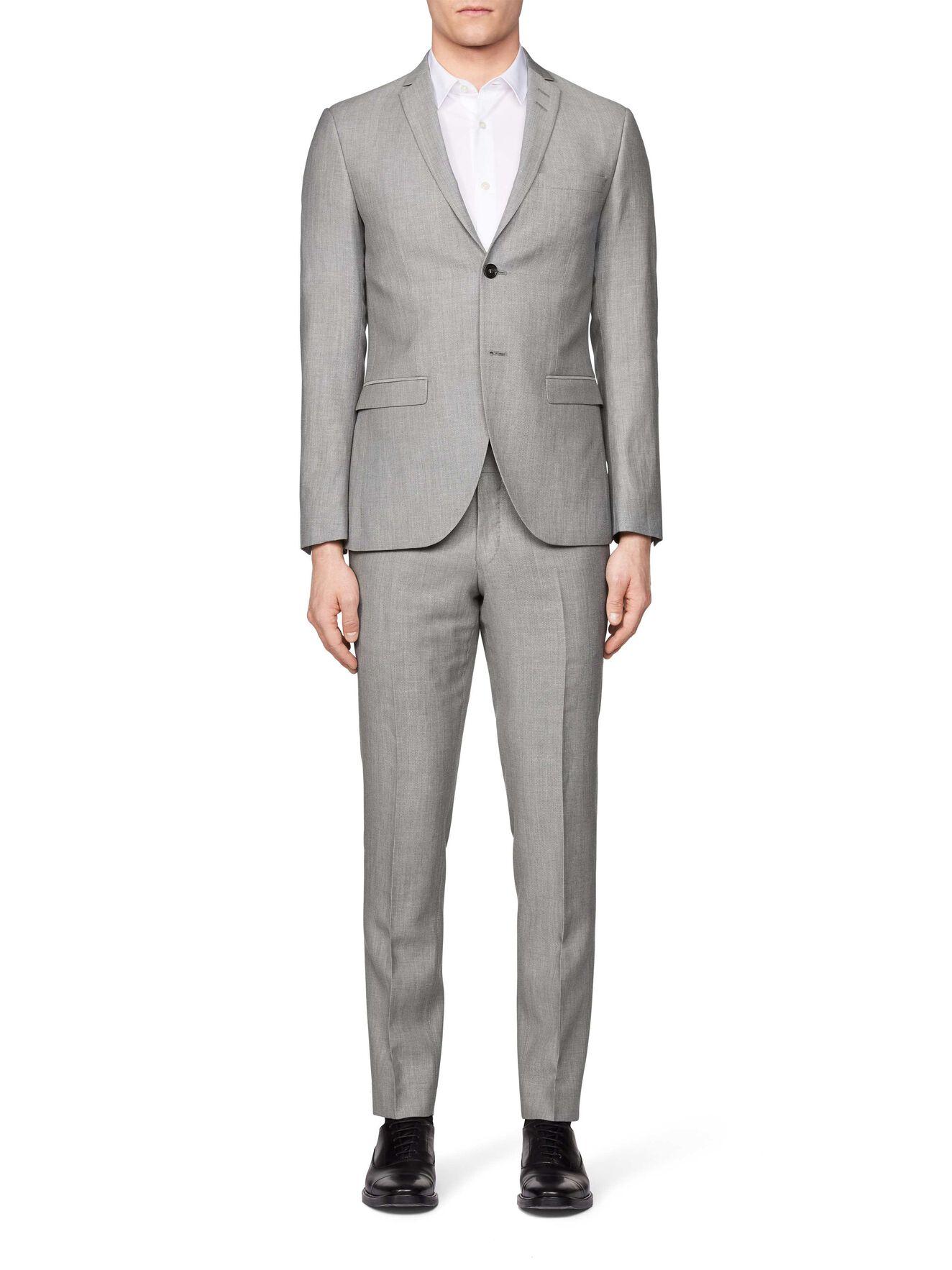 Jil 8 Suit in Light grey melange from Tiger of Sweden