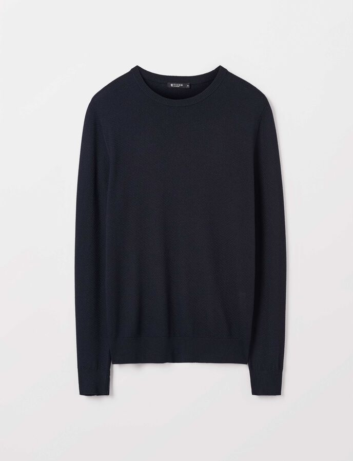 Nawar Pullover in Light Ink from Tiger of Sweden