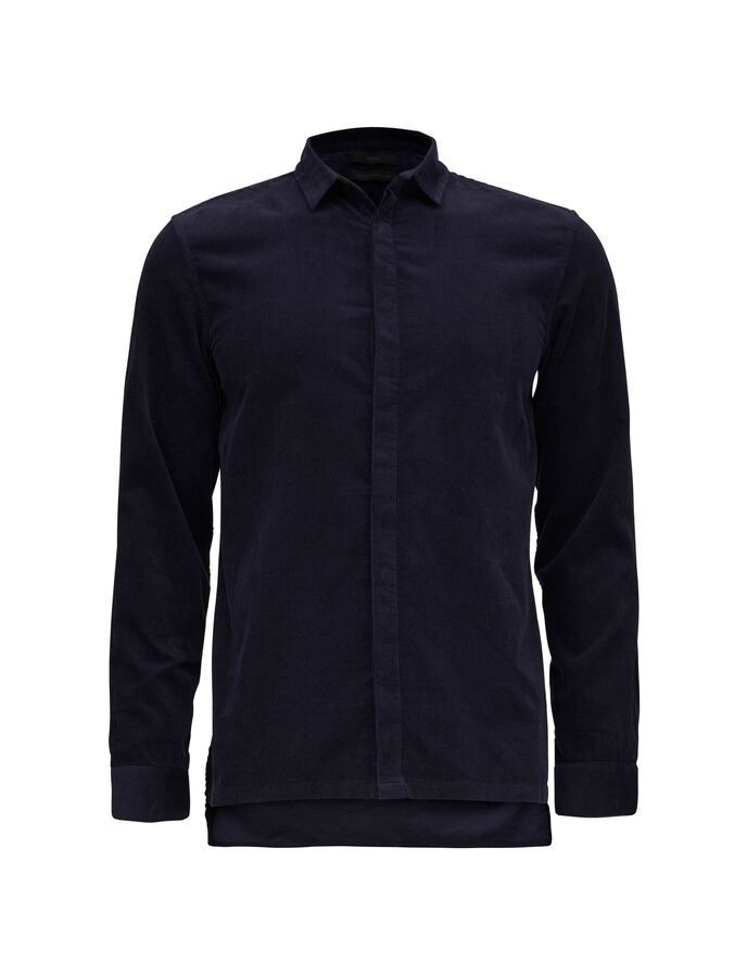 ENOUGH SHIRT in Worker Blue from Tiger of Sweden