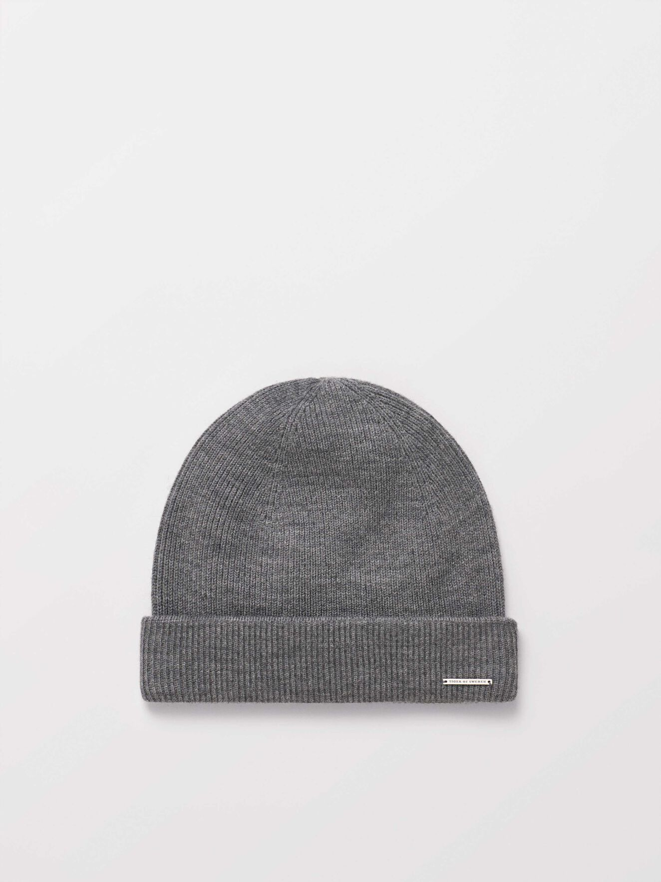 Halfo Beanie in Light grey melange from Tiger of Sweden