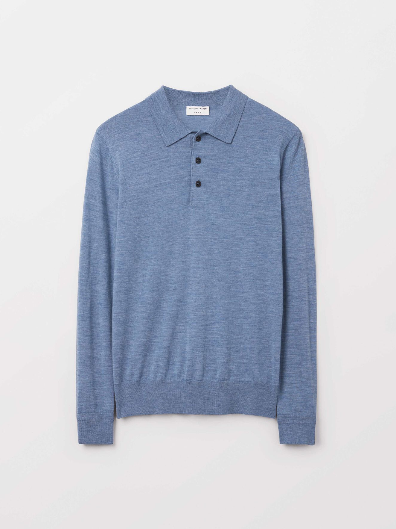 Newton Pullover in Soft blue from Tiger of Sweden