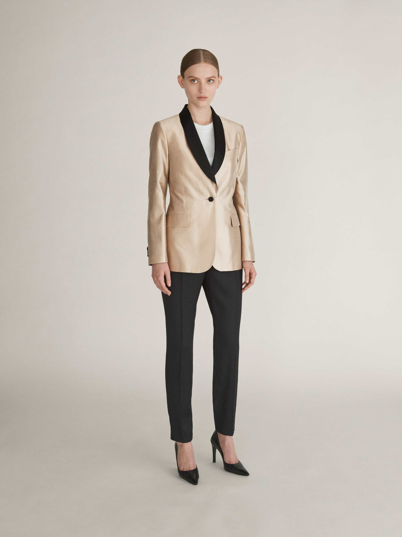 Nektar Blazer in Macchiato from Tiger of Sweden