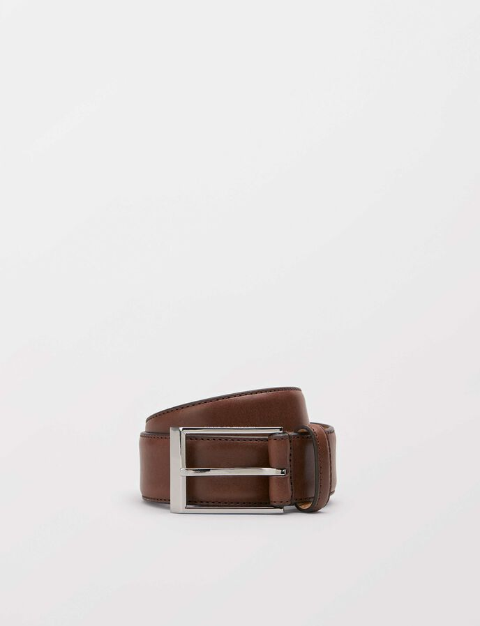 Helmi belt in Dark Brown from Tiger of Sweden