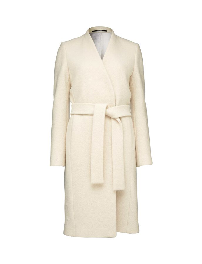 LOVELLE COAT in Star White from Tiger of Sweden