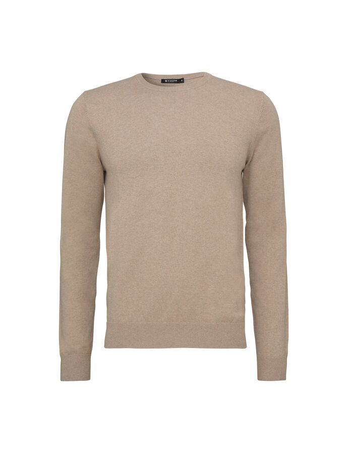 MATIAS CC PULLOVER in Irish Cream from Tiger of Sweden