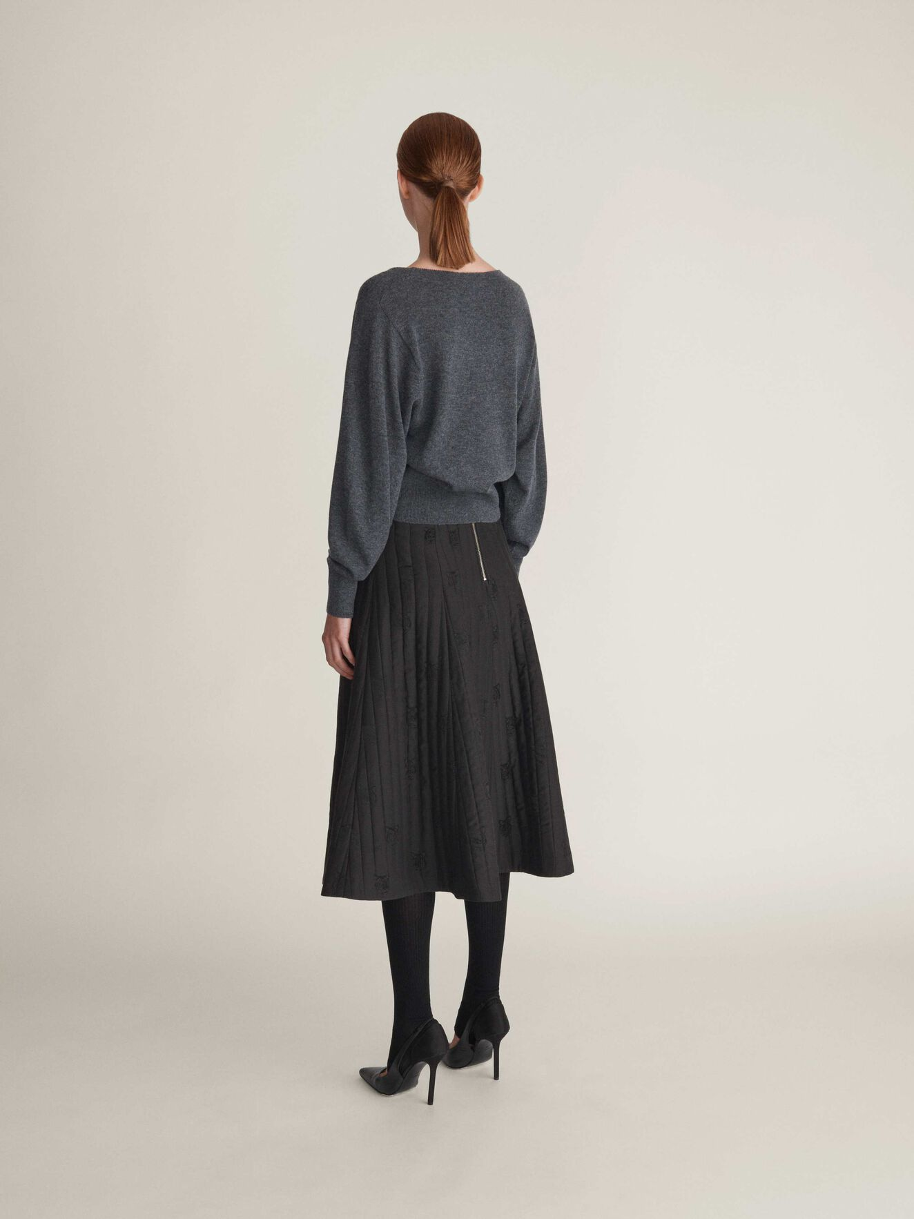 Cylla Pullover in Iron Grey from Tiger of Sweden