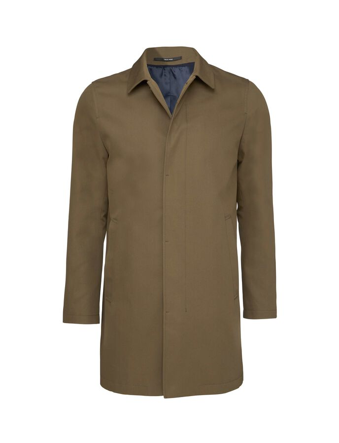 BRUISER 15 COAT in Brown from Tiger of Sweden