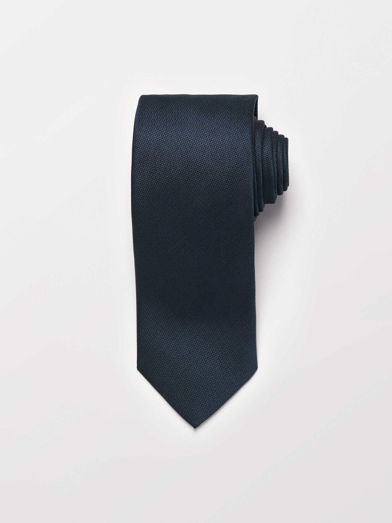 Samuell Krawatte in Dark Jeans Blue from Tiger of Sweden