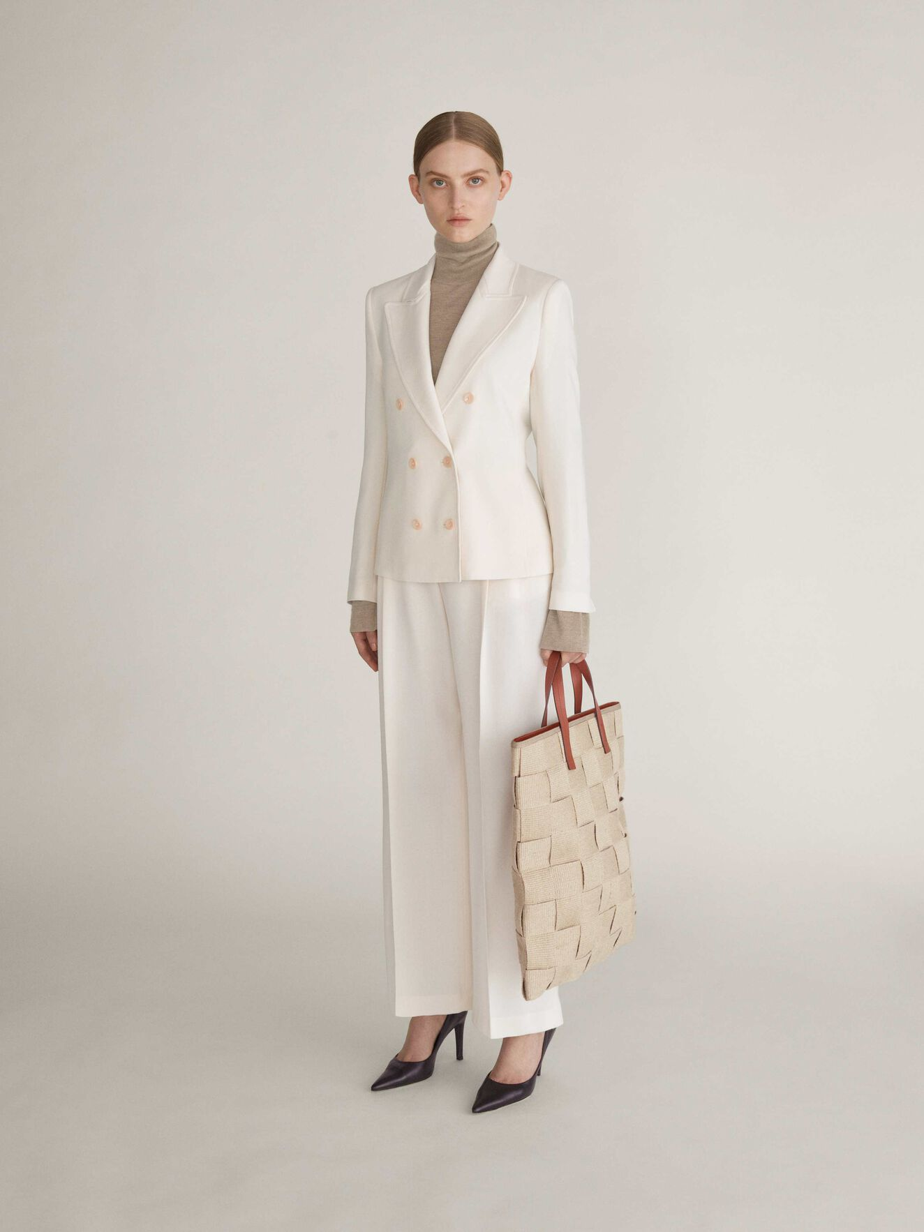 Hylle Blazer in Whipped Cream from Tiger of Sweden