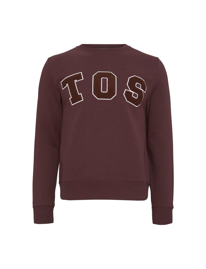 HUBERTZ PR SWEATSHIRT in Dark Heather from Tiger of Sweden