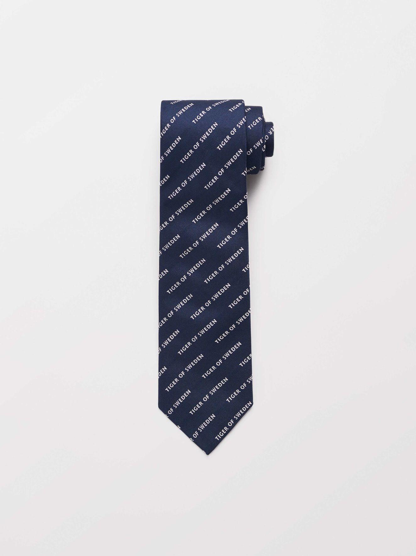 Torris Tie in Light Ink from Tiger of Sweden