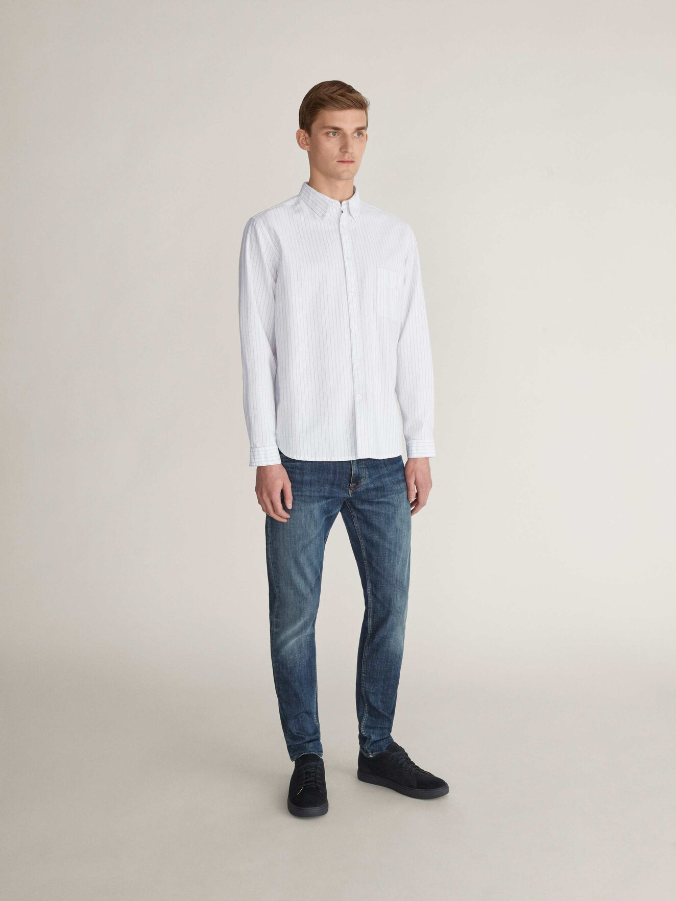 Royce Shirt in White from Tiger of Sweden