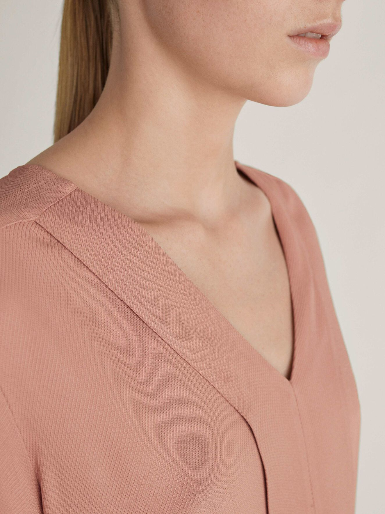 Meristem Top in Soft Blush from Tiger of Sweden