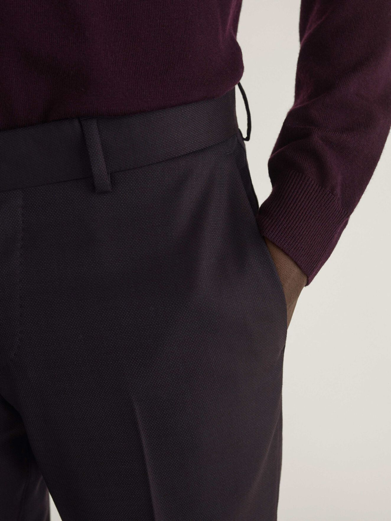 Tordon Trousers in Noon Plum from Tiger of Sweden