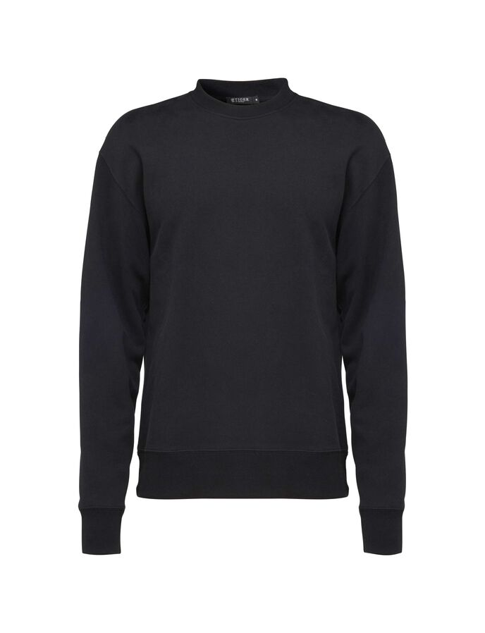 ELDRIDGE SWEATSHIRT in Black from Tiger of Sweden