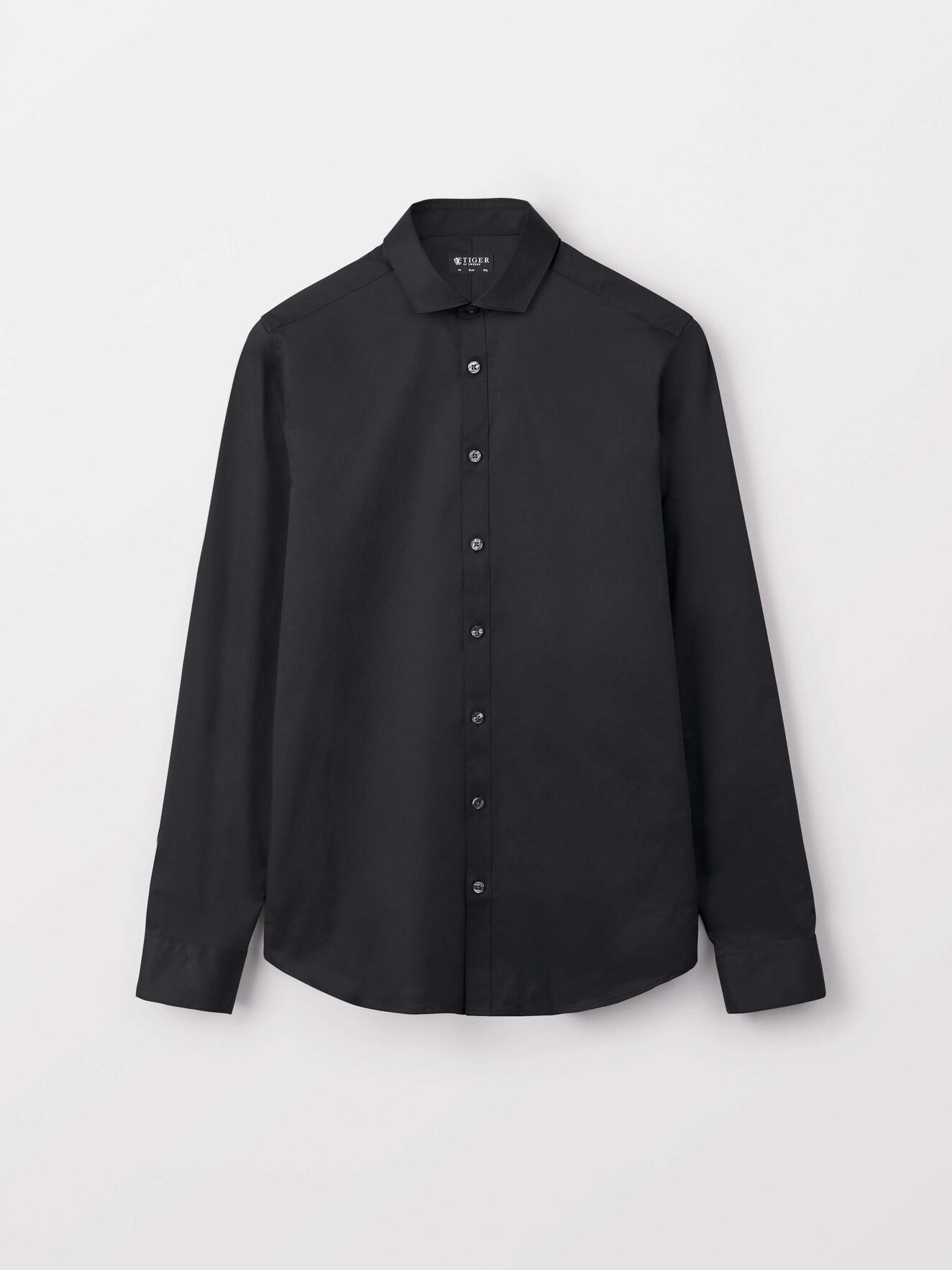 Steel 1 Shirt in Black from Tiger of Sweden