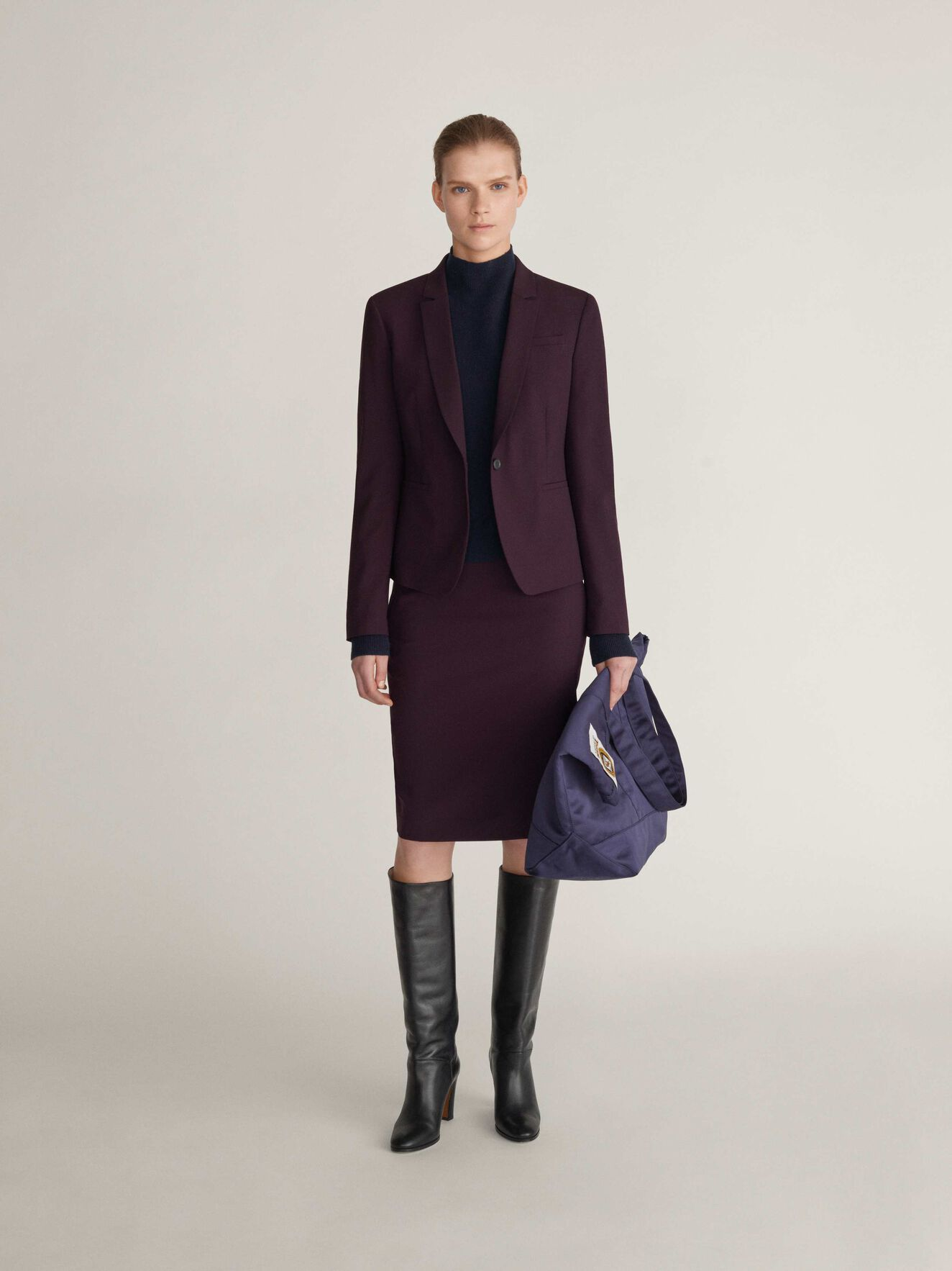 Kana 2 Blazer in Juicy Plum from Tiger of Sweden