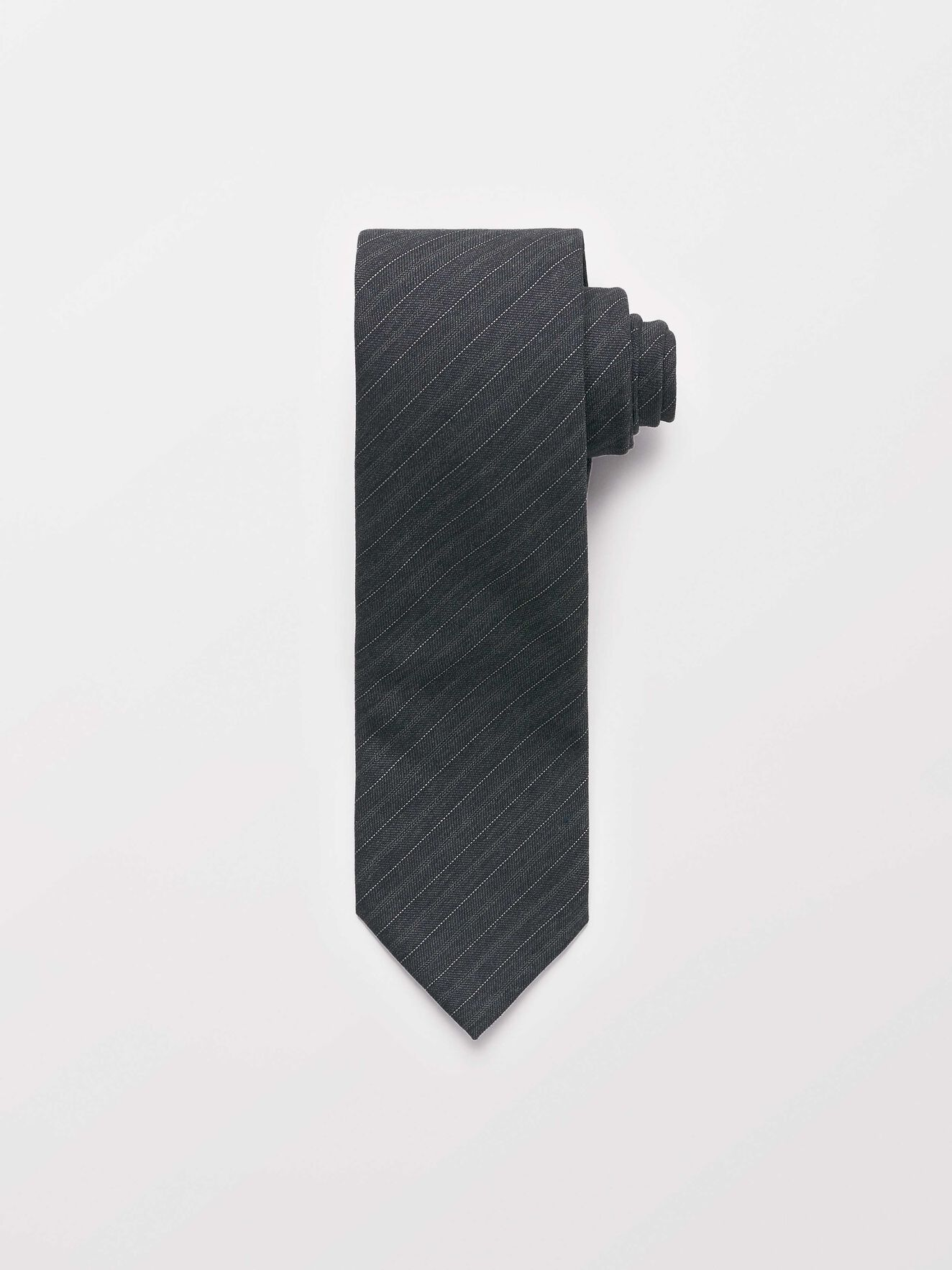 Trage Tie in Dark grey Mel from Tiger of Sweden