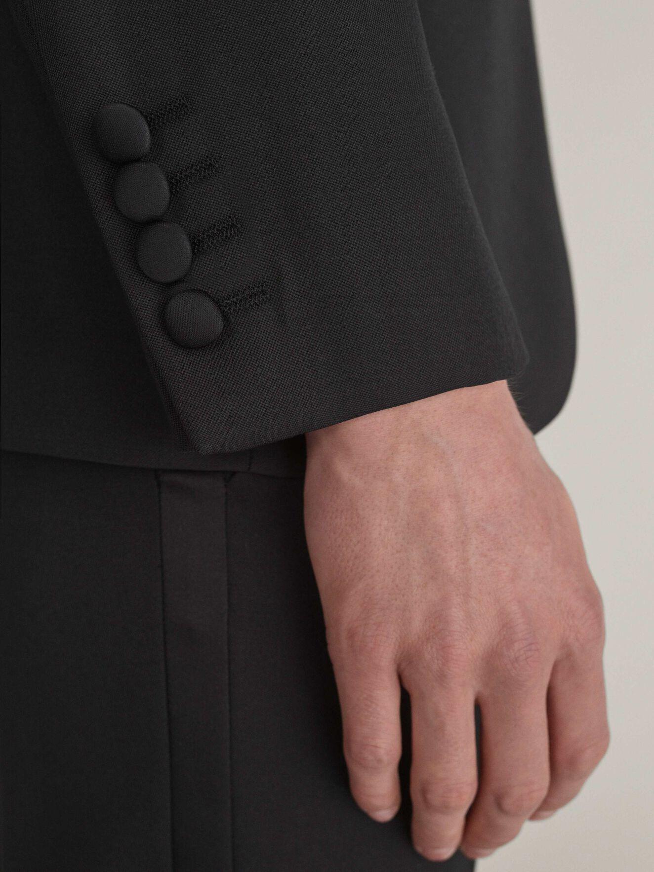 1903 Tuxedo Blazer in Black from Tiger of Sweden