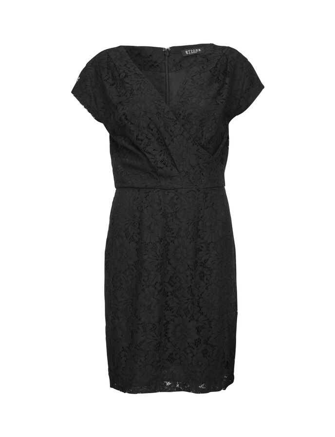 AMIS DRESS in Midnight Black from Tiger of Sweden
