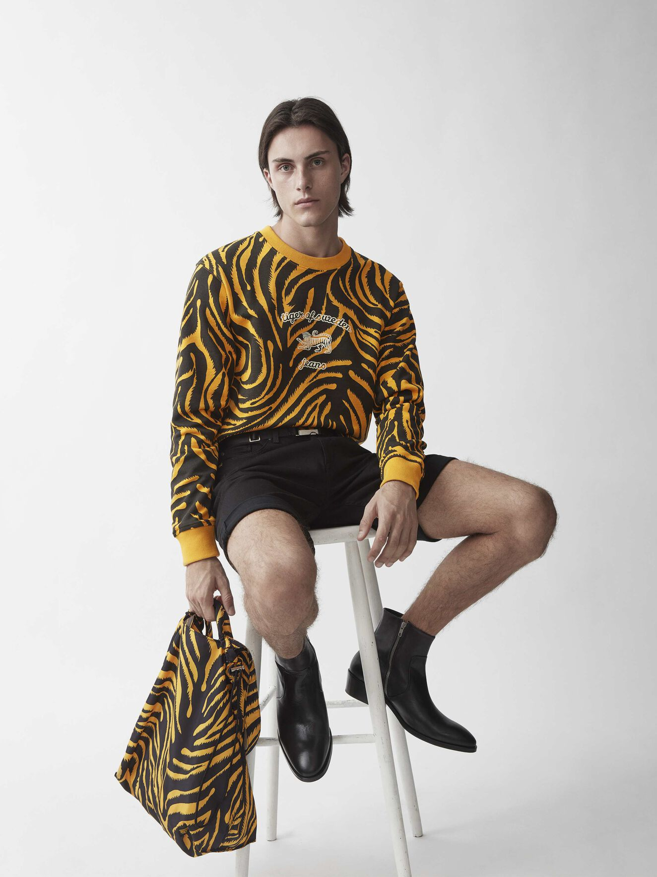 Tana T Sweatshirt in Print from Tiger of Sweden