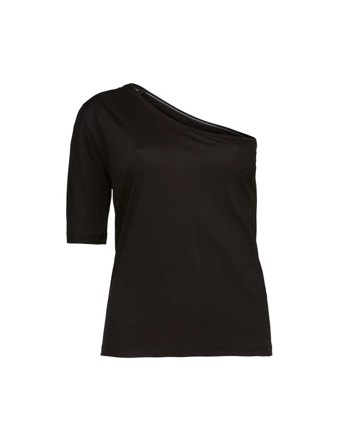ILENE TOP in Midnight Black from Tiger of Sweden