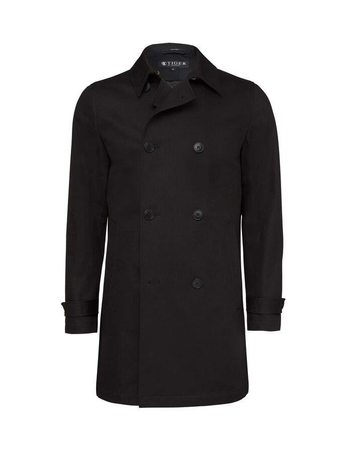CHALMER COAT in Black from Tiger of Sweden