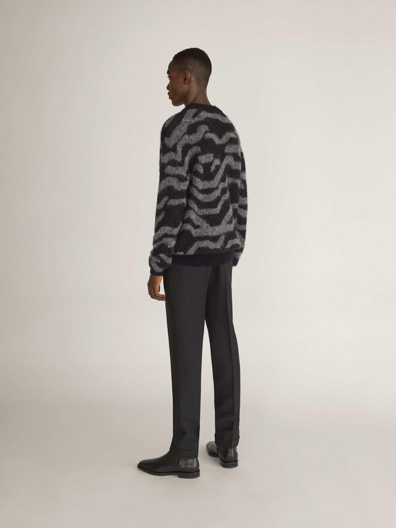 Nocks Pullover in Black from Tiger of Sweden