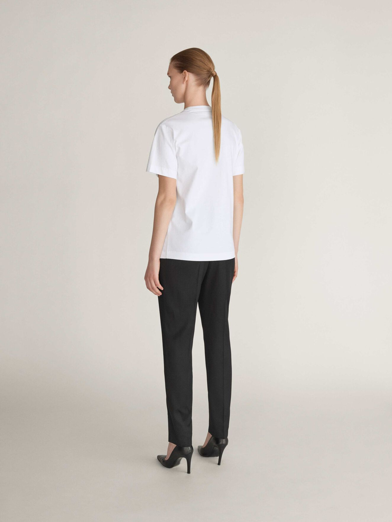 Dellana P T-Shirt in Bright White from Tiger of Sweden