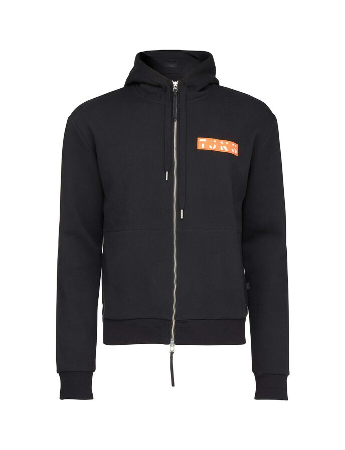 DIFF PR HOODIE in Black from Tiger of Sweden