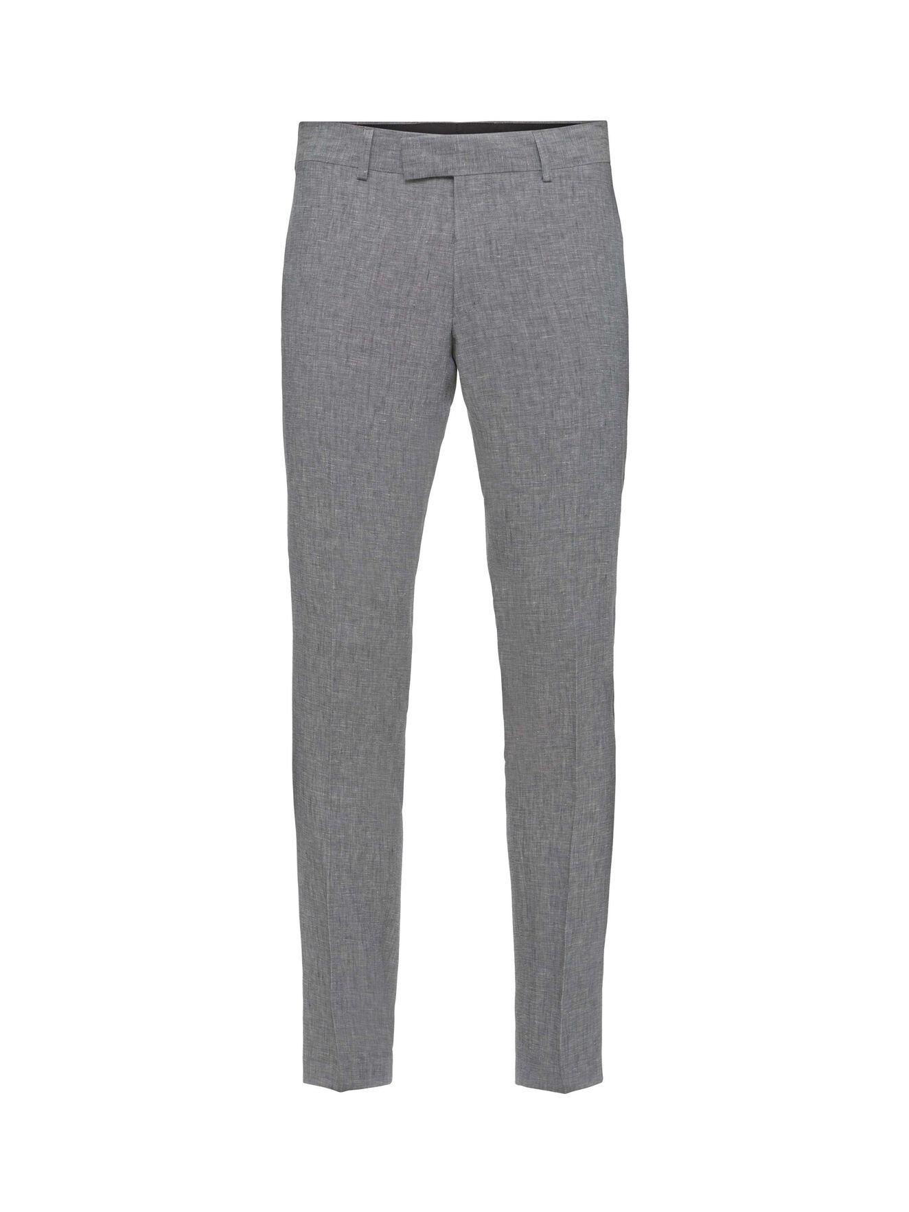 Gordon Trousers in Light grey melange from Tiger of Sweden