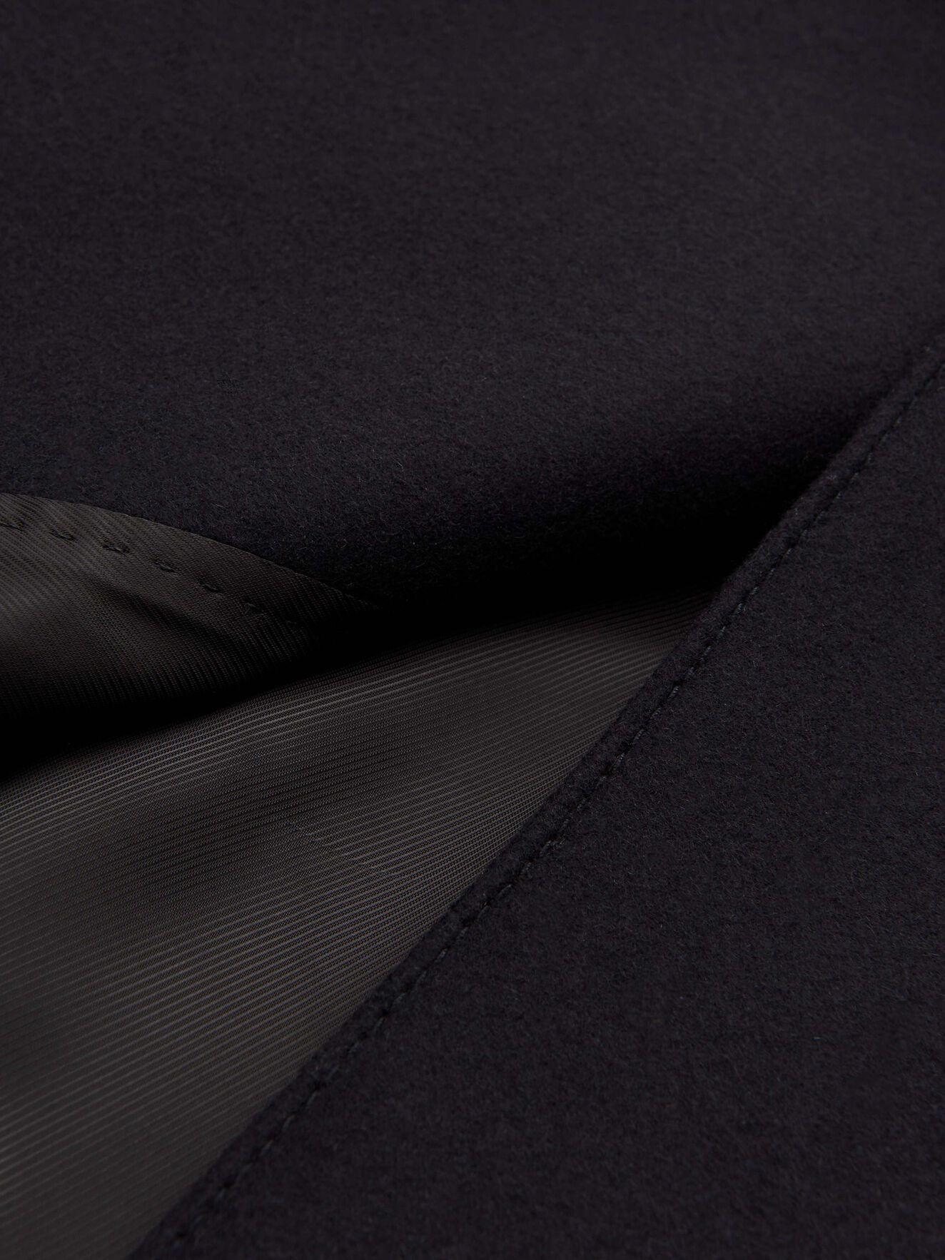 Cammel Coat in Dark Sea from Tiger of Sweden