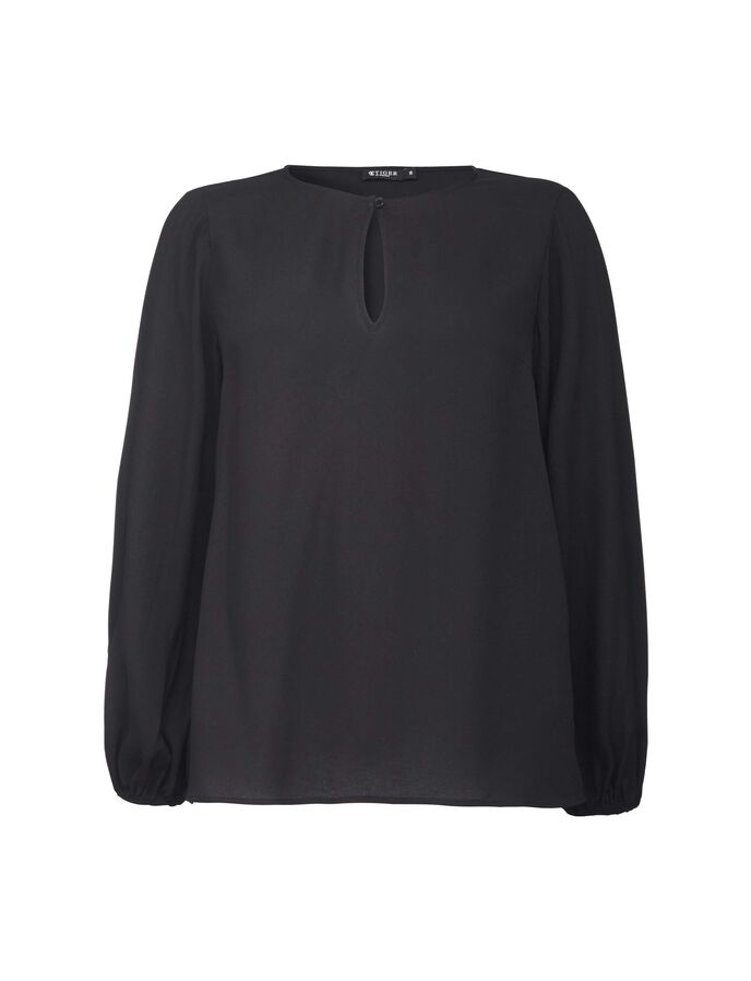 ZAO BLOUSE in Midnight Black from Tiger of Sweden