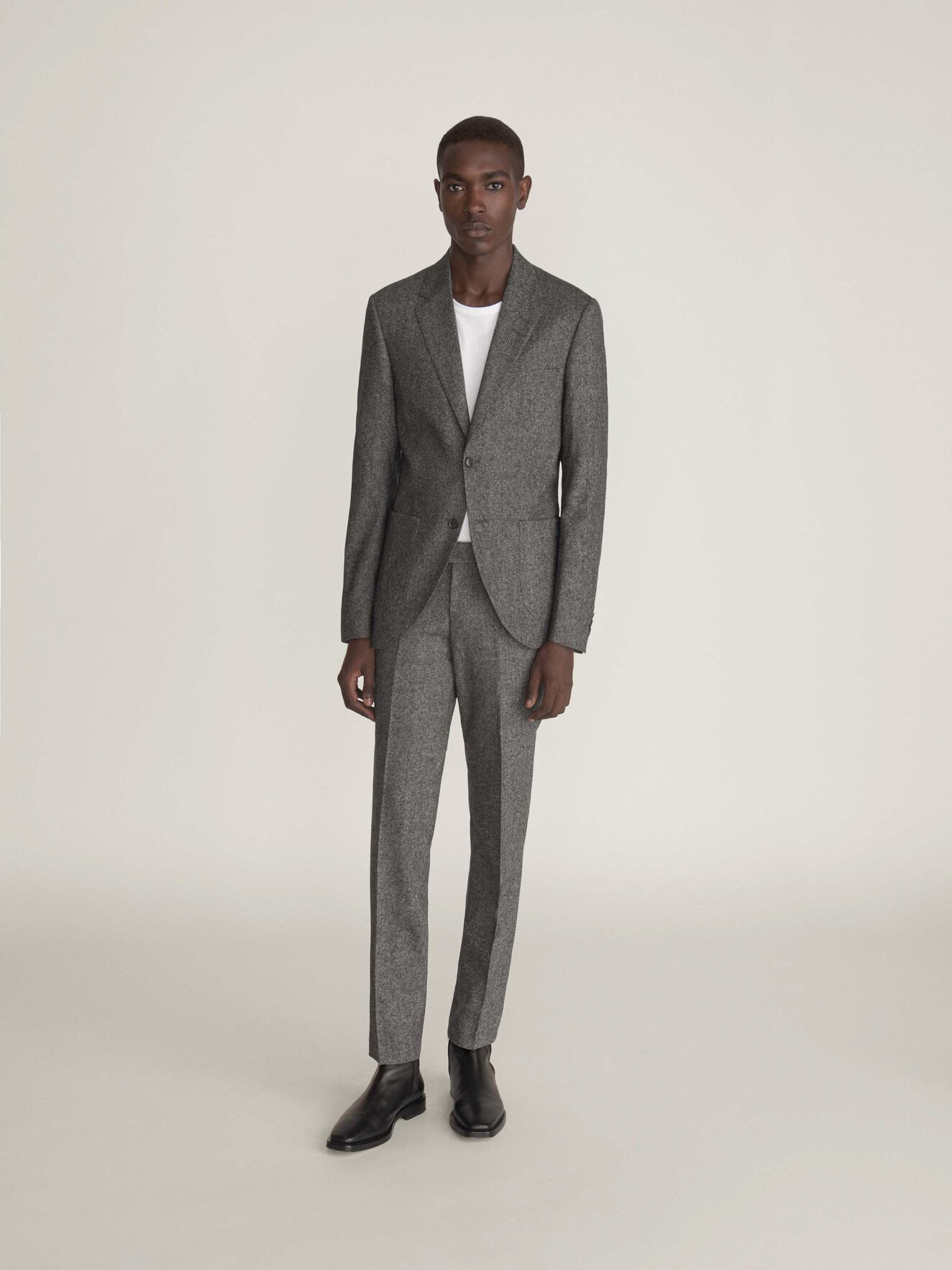 Jamot Blazer in Light grey melange from Tiger of Sweden