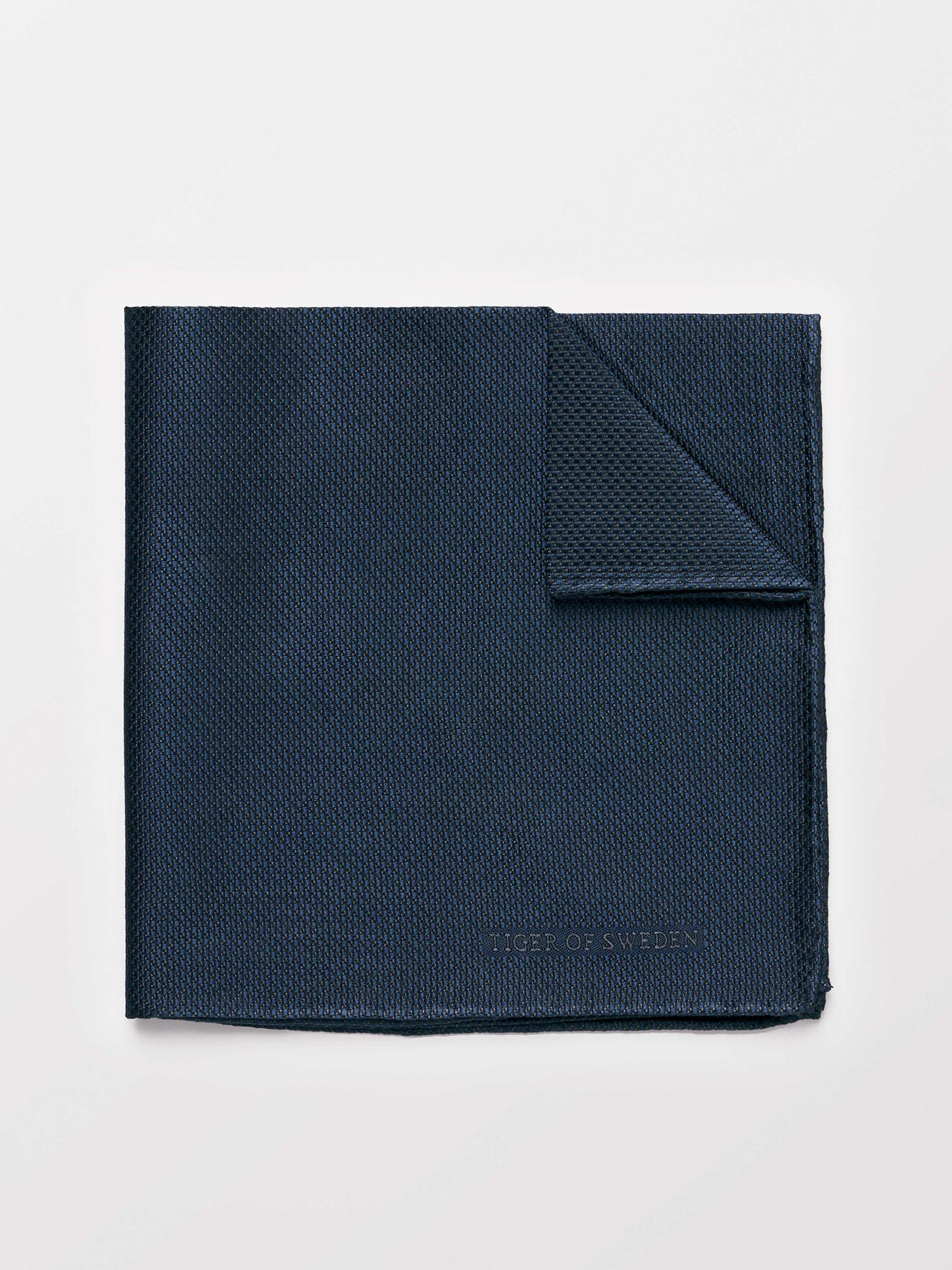 Pallisade Handkerchief in Charcoal from Tiger of Sweden