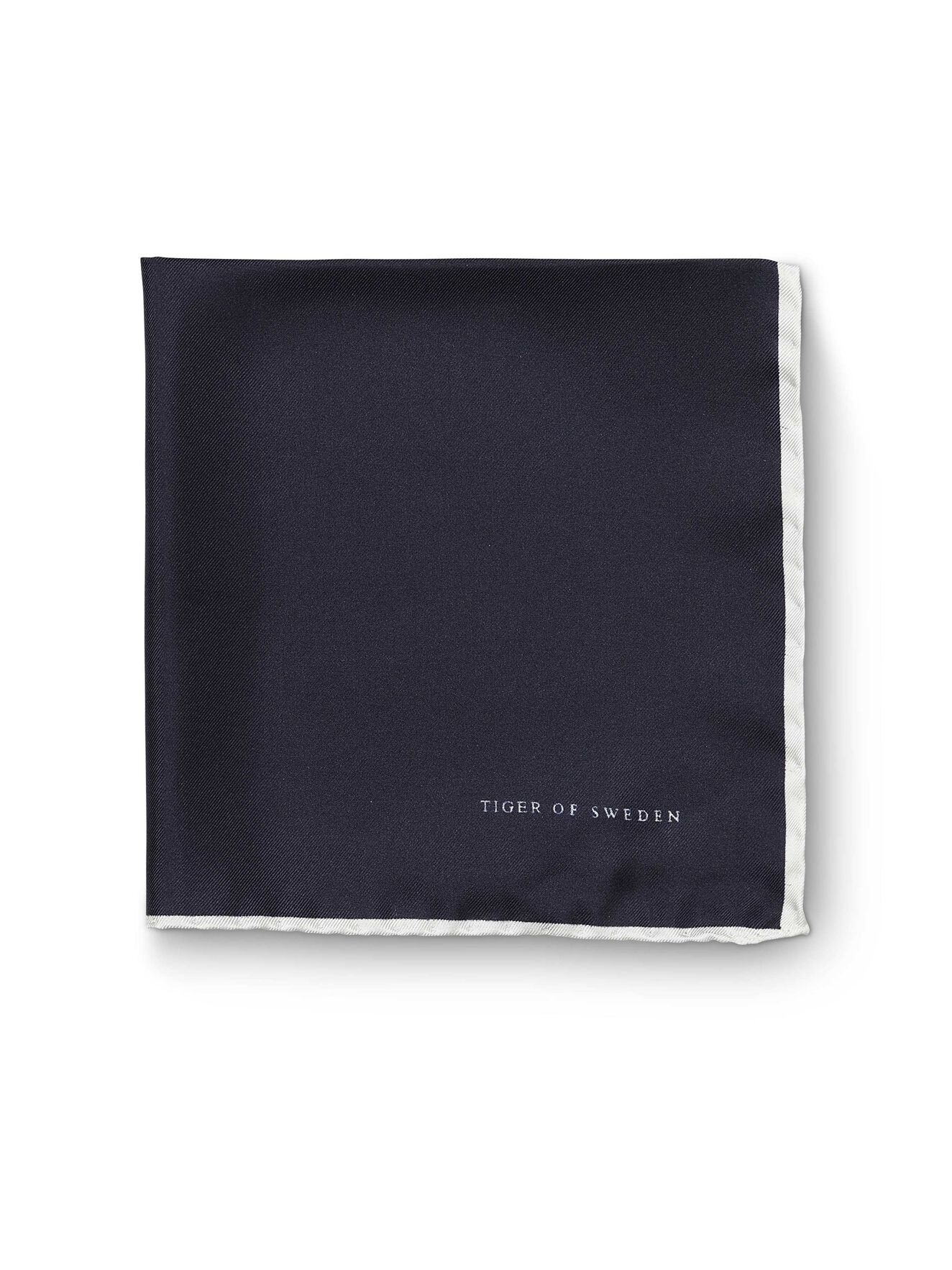 Luserna Silk Handkerchief in Indian Blue from Tiger of Sweden