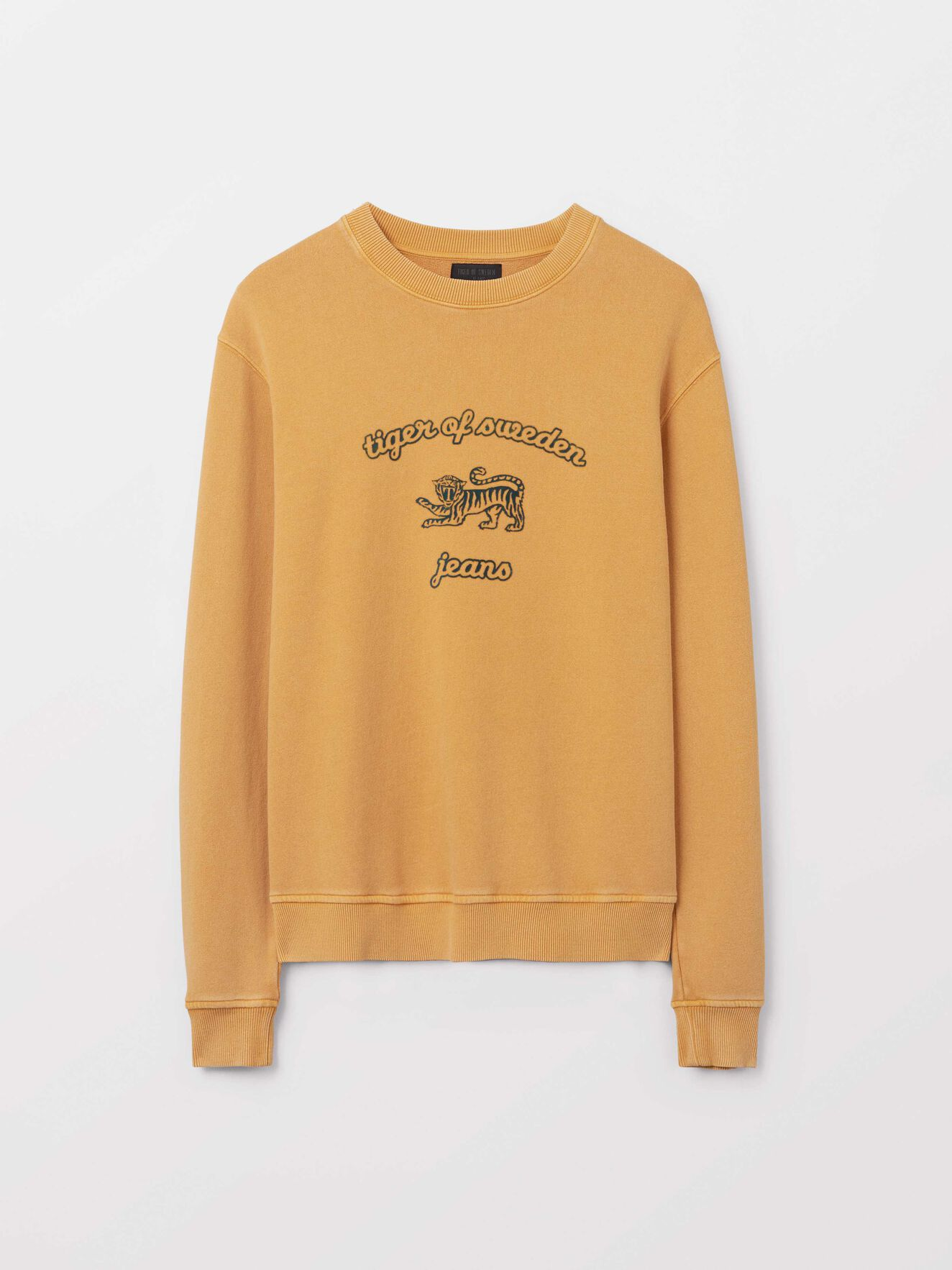 Tana O Sweatshirt in Mustard from Tiger of Sweden