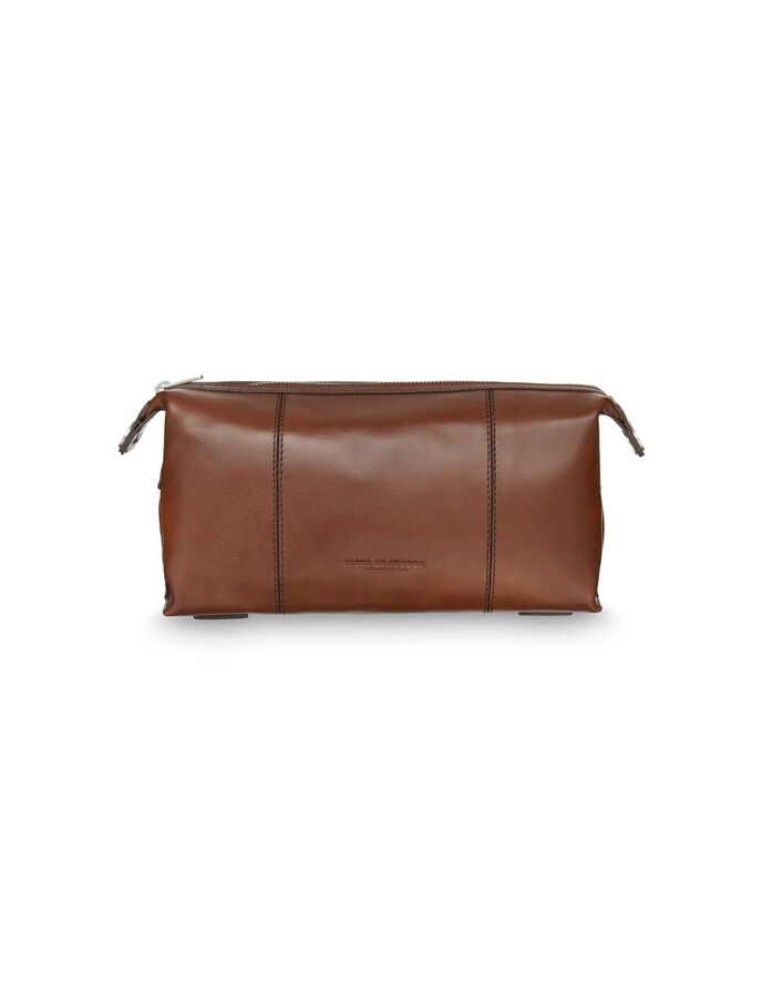 FETTJEA TOILETRY BAG in Cognac from Tiger of Sweden