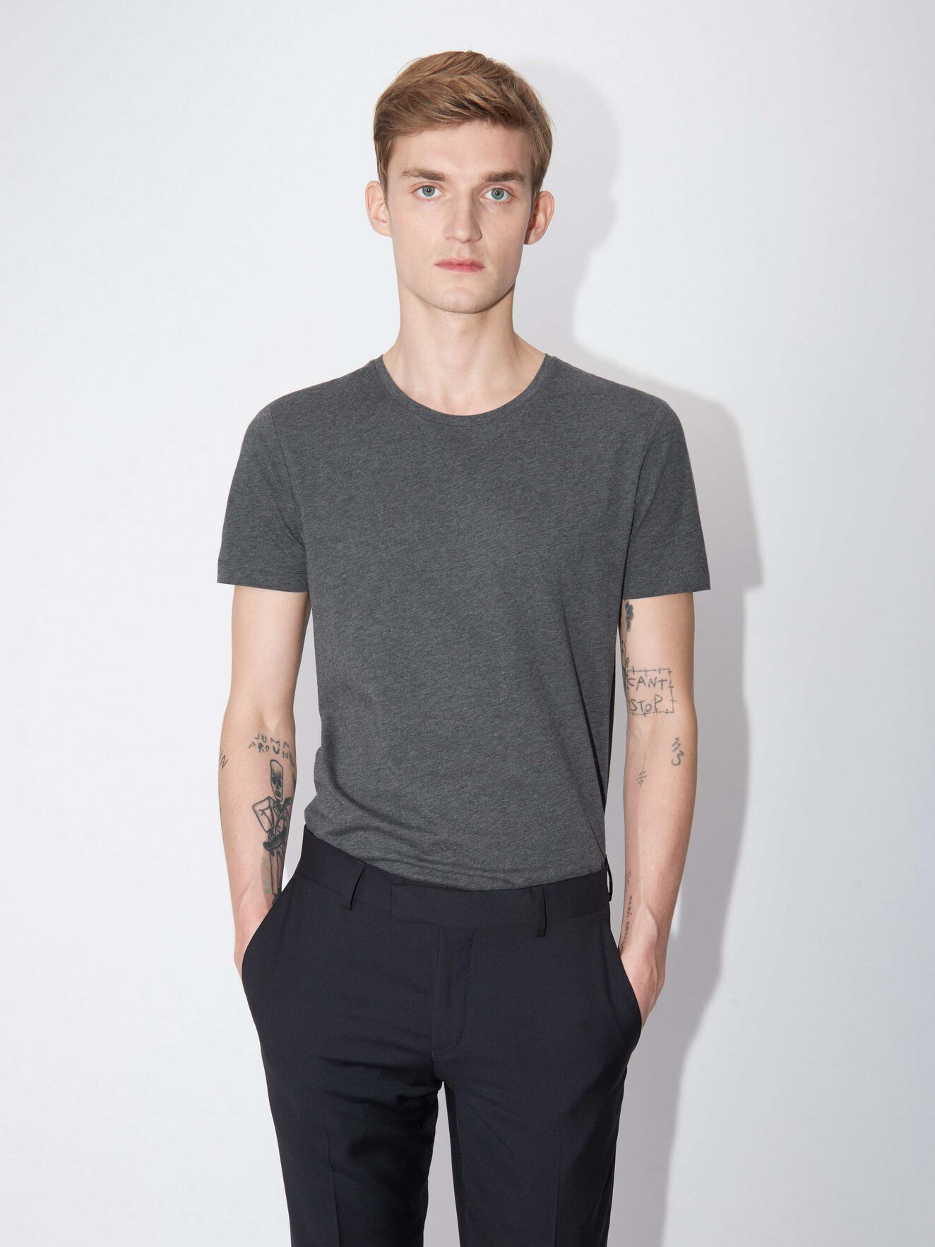 Legacy T-Shirt in Grey Street from Tiger of Sweden