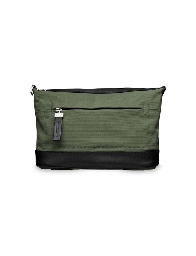 WALSALL TOILETRY BAG in Deep Olive from Tiger of Sweden