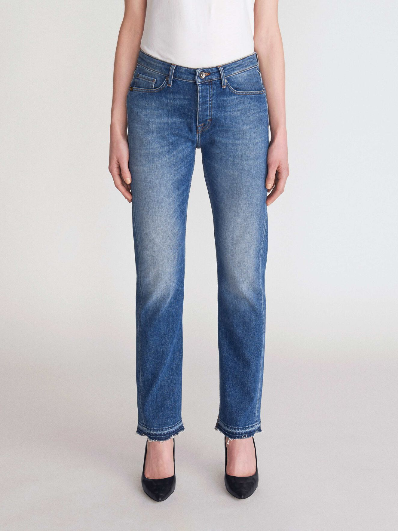 Aude Jeans in Medium Blue from Tiger of Sweden