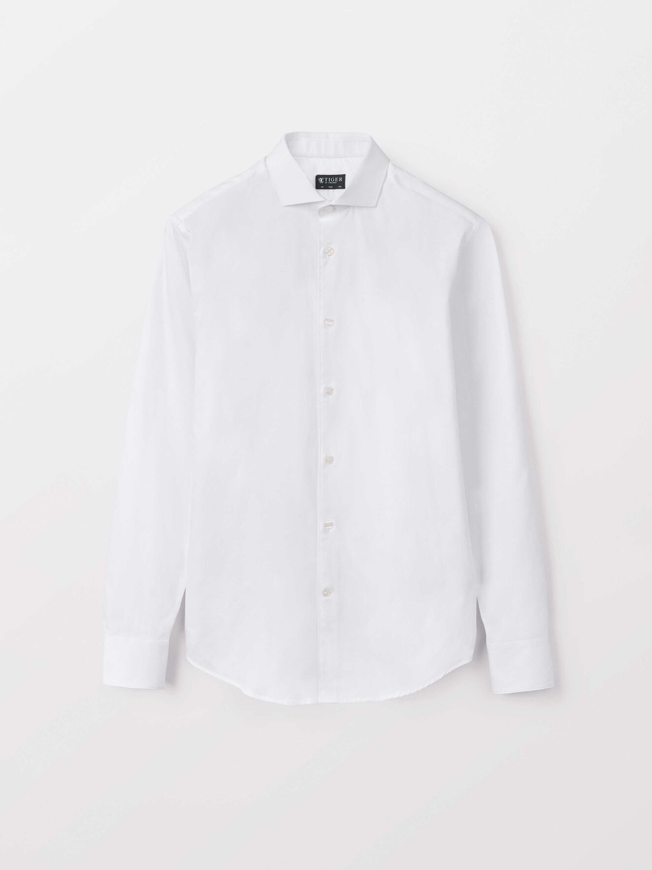 Farrell 5 Hemd in Pure white from Tiger of Sweden