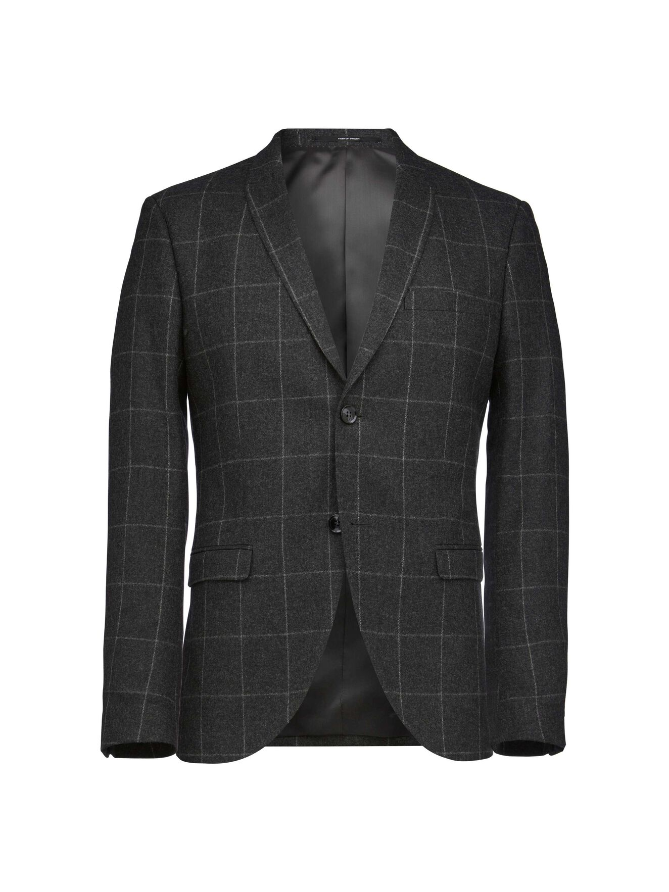 Evert blazer in Charcoal from Tiger of Sweden
