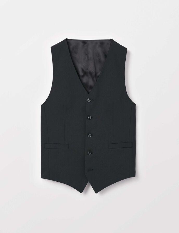 Litt Waistcoat in Black from Tiger of Sweden
