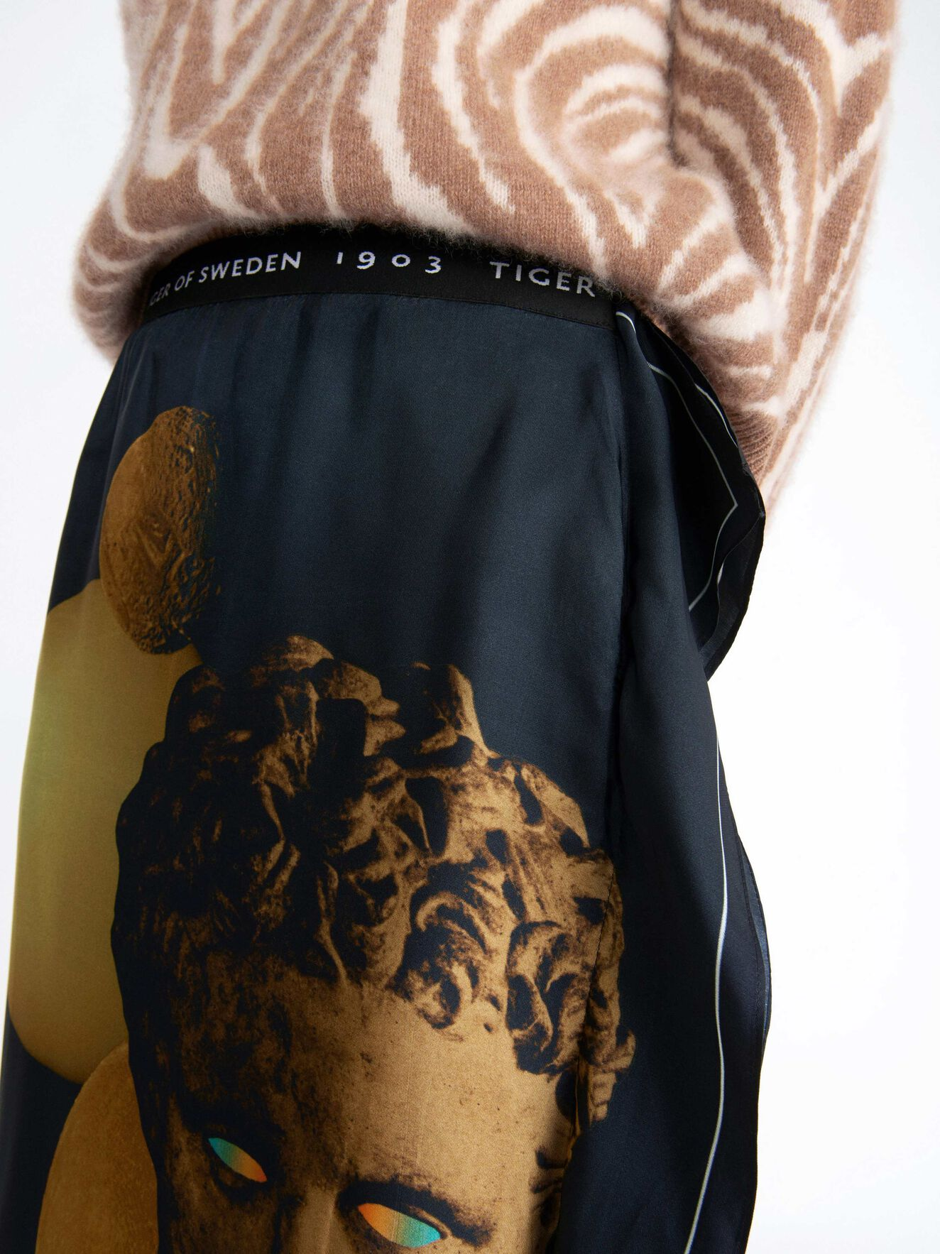 Cognac P Skirt in Print from Tiger of Sweden