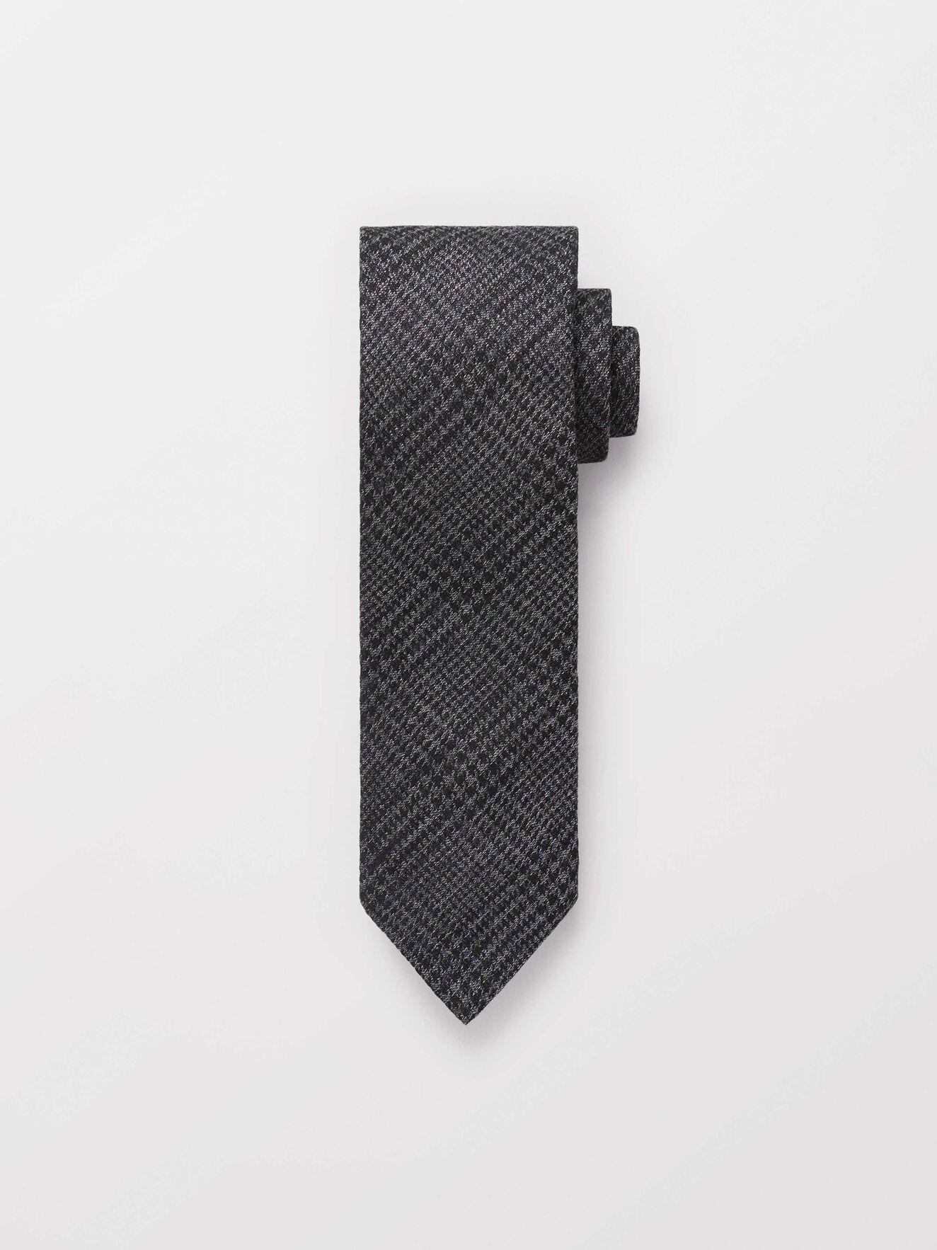 Tornan Krawatte in Charcoal from Tiger of Sweden