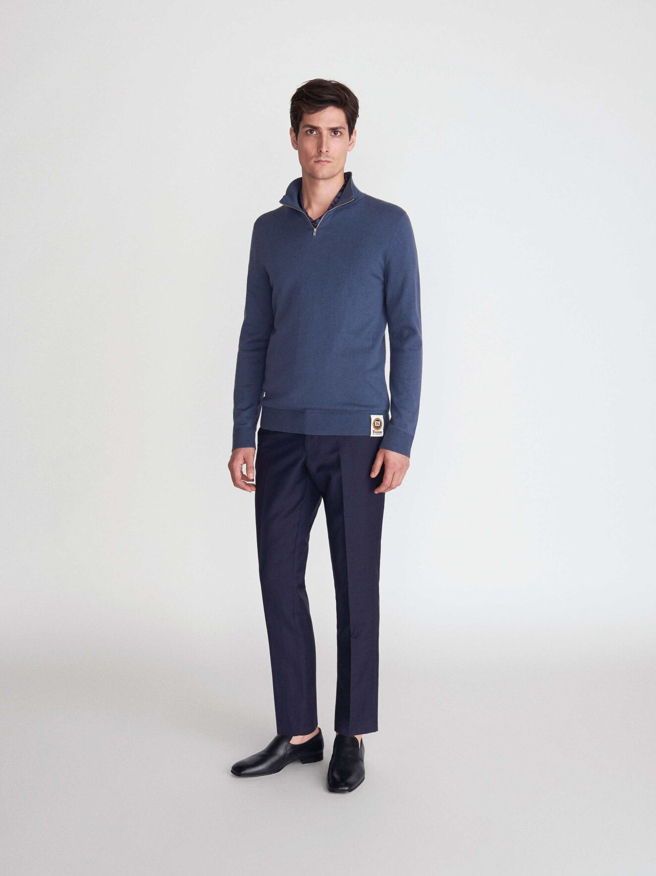 Nemus Pullover in Soft blue from Tiger of Sweden