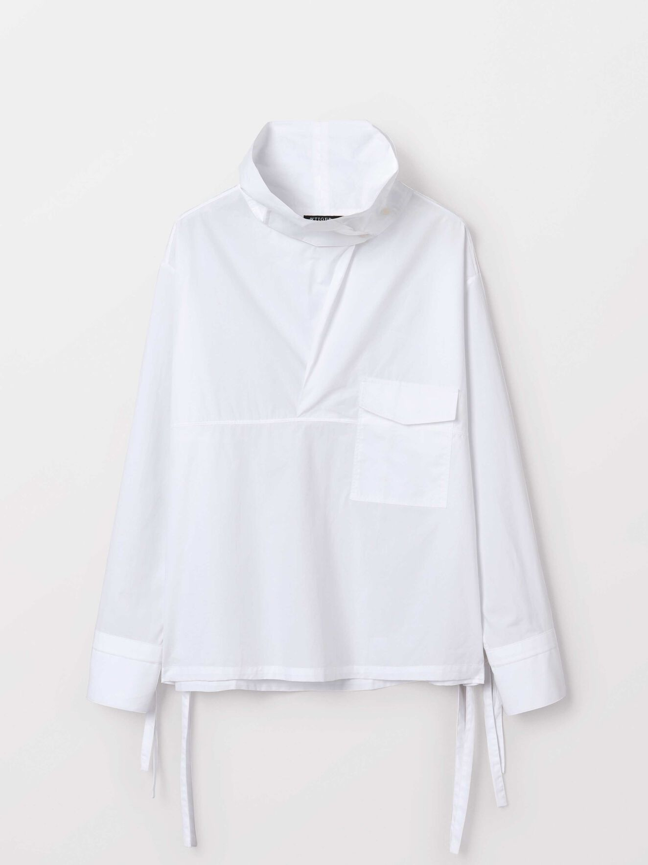 Karpell shirt  in Bright White from Tiger of Sweden